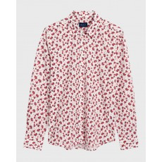 Gant Small Flower Red Shirt