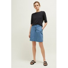 Great Plains Desert Denim Wash Short Skirt
