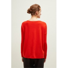 Great Plains Malibu Merino Fiery Red Knitwear