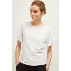 Great Plains Orla Frill Milk Multi T-shirt