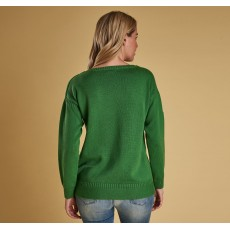 Barbour Sailboat Knit Green
