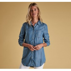 Barbour Sailboat Washed Denim Shirt