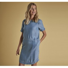 Barbour Seaward Washed Denim Dress
