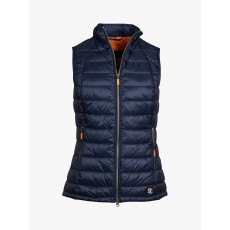 Barbour Deerness Navy and Gold Gilet