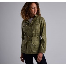 Barbour International Bearings Casual Green Jacket