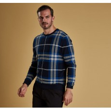 Barbour Blue Newmark Crew
