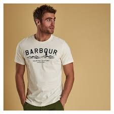 Barbour Bressay White Tee