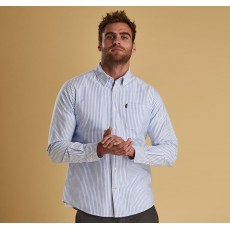 Barbour Oxford Stripe White Shirt