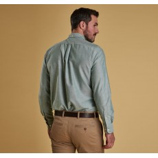 Barbour Oxford Green Shirt