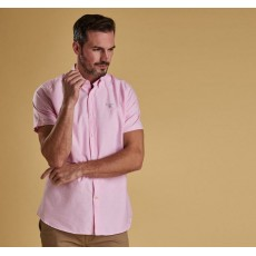 Barbour Oxford Short Sleeve Pink Shirt
