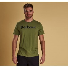 Barbour Logo Olive Tee