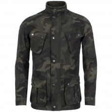 Barbour International Washed Camo Coat