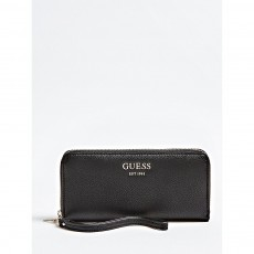Guess Vicky Large Zip Around Black