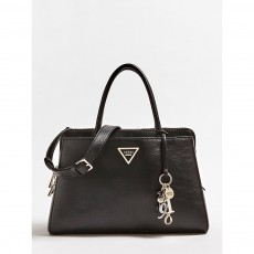 Guess Maddy Girlfriend Satchel Black