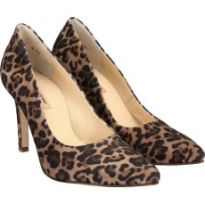 Paul Green Court Shoe Leopardino Camel