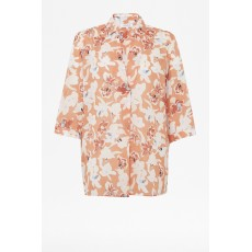 Great Plains Tulum Floral Rust Multi Combo Shirt