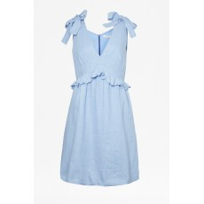 Great Plains Safi Linen Chambray Midi Dress