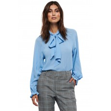 Part Two Poppy Blue Blouse