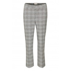 Part Two Olivia Grey Check Trousers