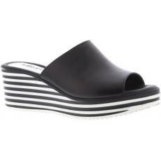 a9bde5a0 Adesso Hanna Black Wedged Sandal