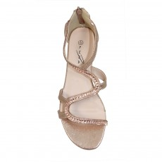 Lunar Belle Rose Gold Sandal