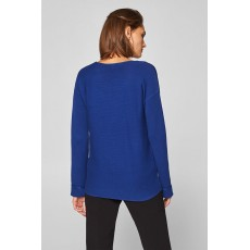 Esprit Vneck sweater Bright Blue