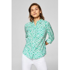 Esprit Spring printed Blouse Green