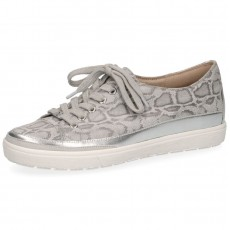 Caprice Grey Snake Print Trainer