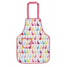 Childs PVC Apron Bunnies