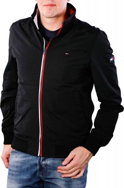 41e625295 Tommy Jeans Essential Casual Bomber Tommy Black
