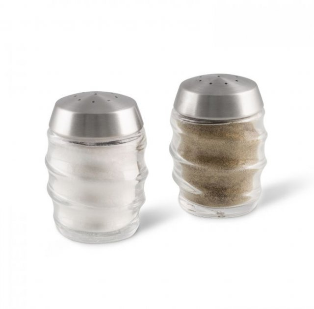 Cole & Mason Bray 70mm Glass Shakers Set