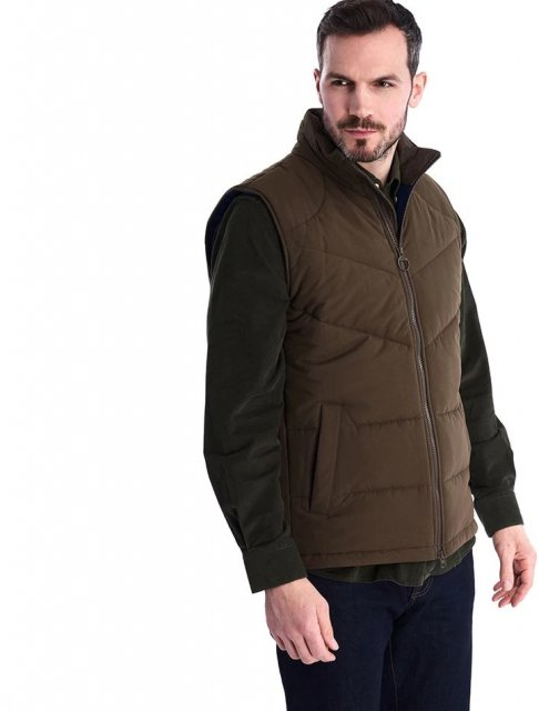 Barbour Ruck Gilet Dark Olive