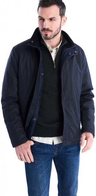 Barbour Buttermere Wax Navy