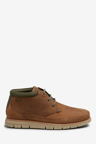 Barbour Nelson Shoe Chocolate