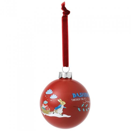 Beatrix Potter Peter Rabbit Christmas Bauble