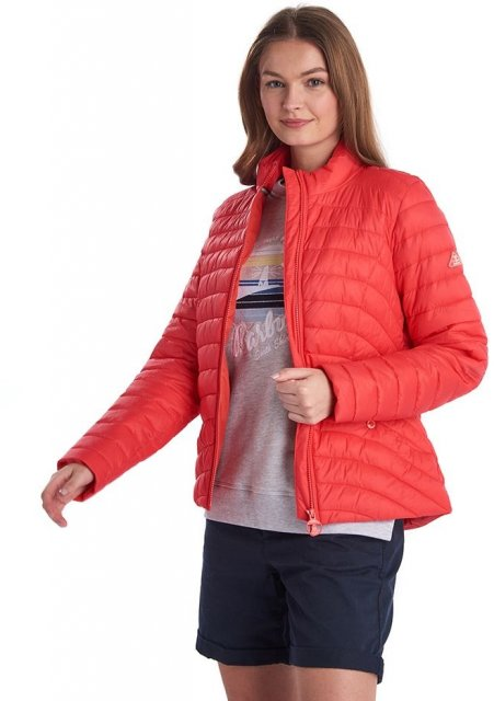 Barbour Shoreward Quilt Coral
