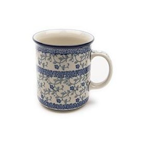 Country Pottery Forget Me Not Everyday Mug