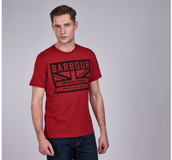 Barbour International Flag Tee