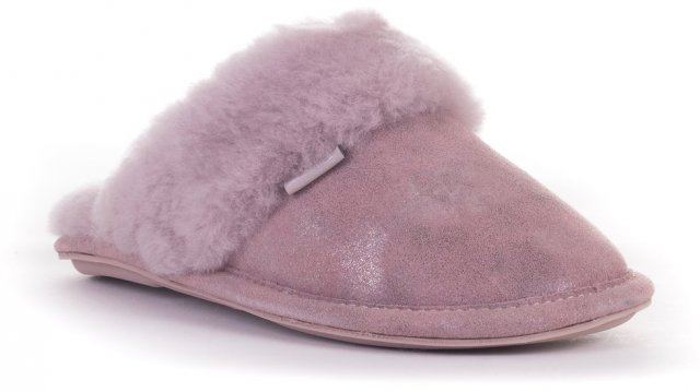 Bedroom Athletics Bonnie Glitter Mule Slipper Aquarelle