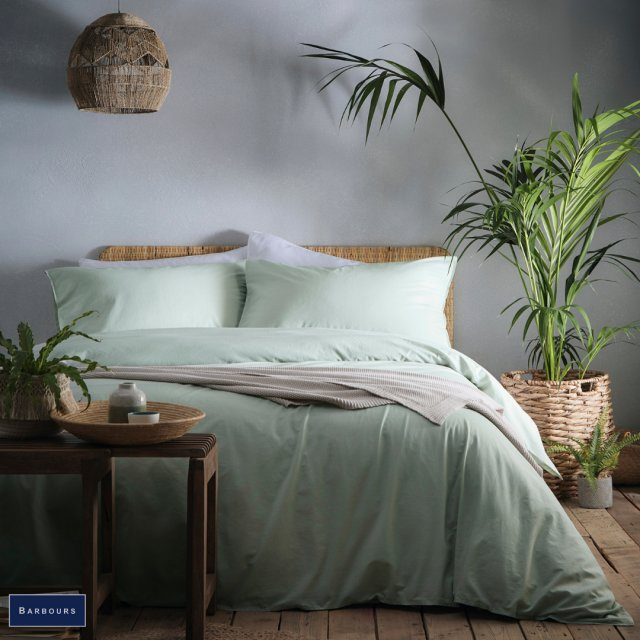 Cassia Bedding Green