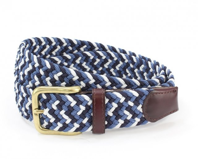 Belt Multi Navy/Blue/White L