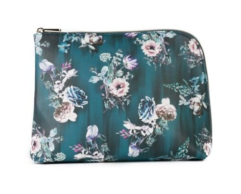 Danielle Floral-Press Large Wide Bag