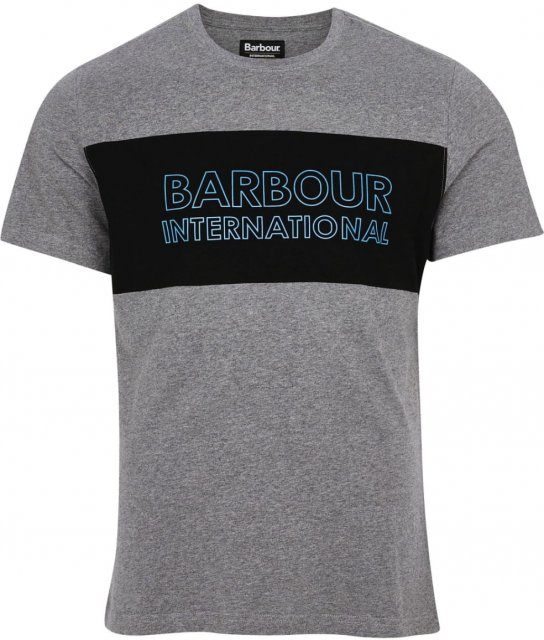 Barbour International Panel Logo Tee