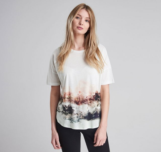 Barbour International Apex Tee Snow