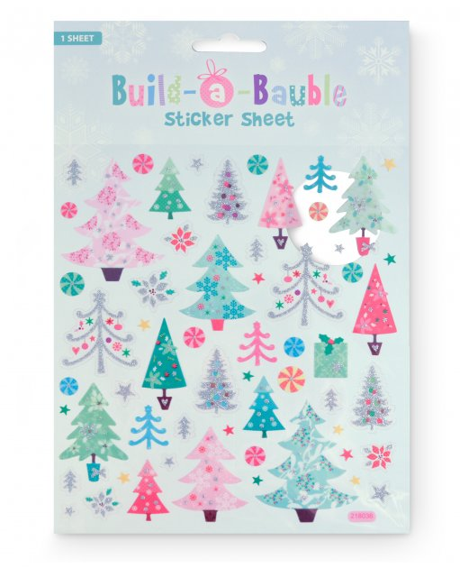 Build-a-Bauble Stickers
