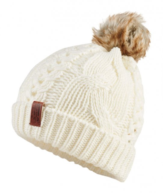 Superdry North Cable Bobble Hat Cream - Scarves 9d0198702c6