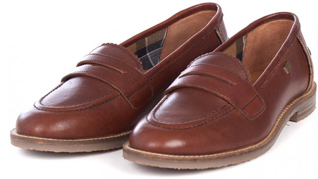 Barbour Dianne Loafer Chestnut