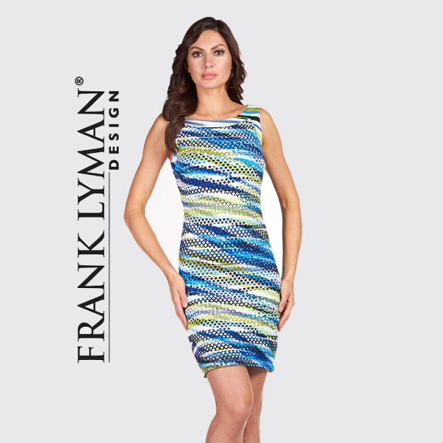 Frank Lyman Dress Multi-coloured