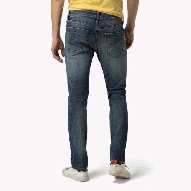 9cd887e2 Tommy Hilfiger Slim Scanton Dynamic True Mid Stretch Jean. Image1. Image2