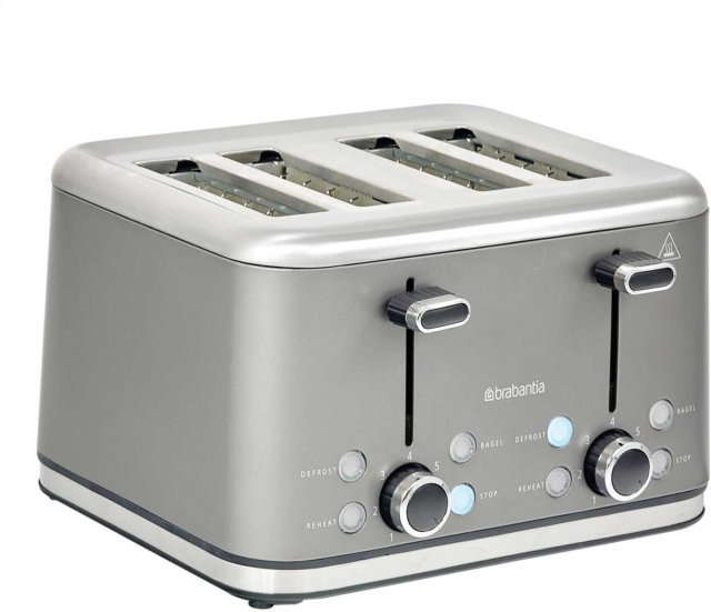 Brabantia Brushed Stainless Steel Toaster